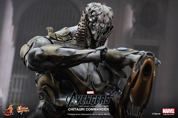 Preview | Hot Toys: Chitauri Commander (8)