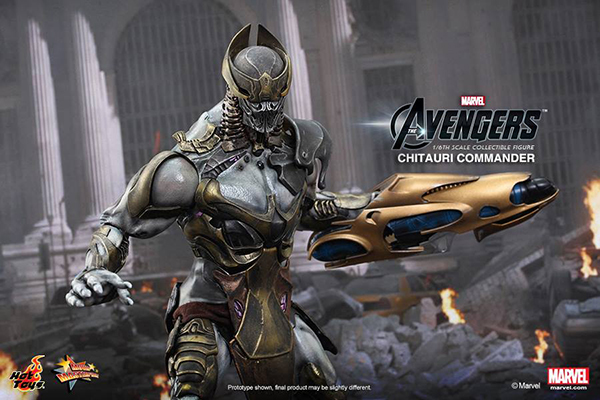 Preview | Hot Toys: Chitauri Commander (9)