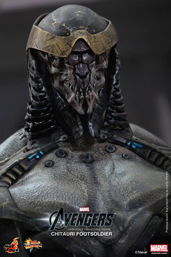 Preview | Hot Toys: Chitauri Footsoldier (10)