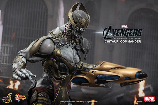 Preview | Hot Toys: Chitauri Commander (10)