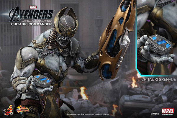 Preview | Hot Toys: Chitauri Commander (12)