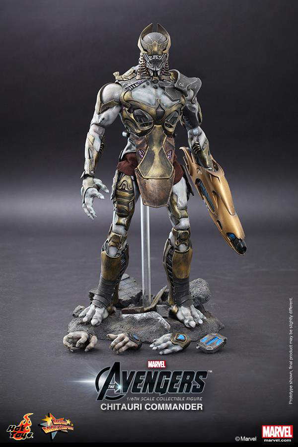 Preview | Hot Toys: Chitauri Commander (14)