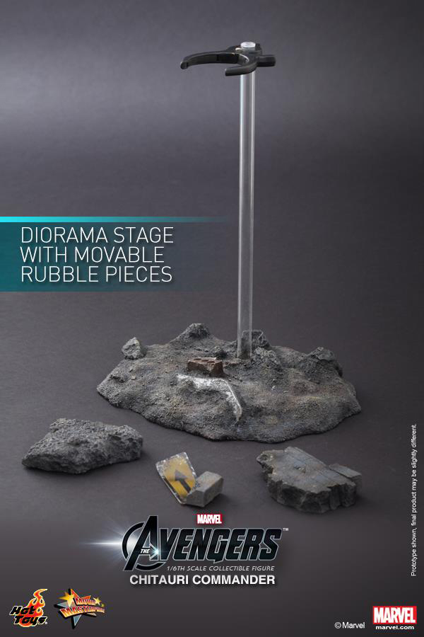 Preview | Hot Toys: Chitauri Commander (15)