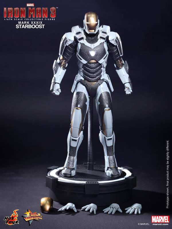 Preview | Hot Toys: Ironman Mark XXXIX (Starboost) (15)