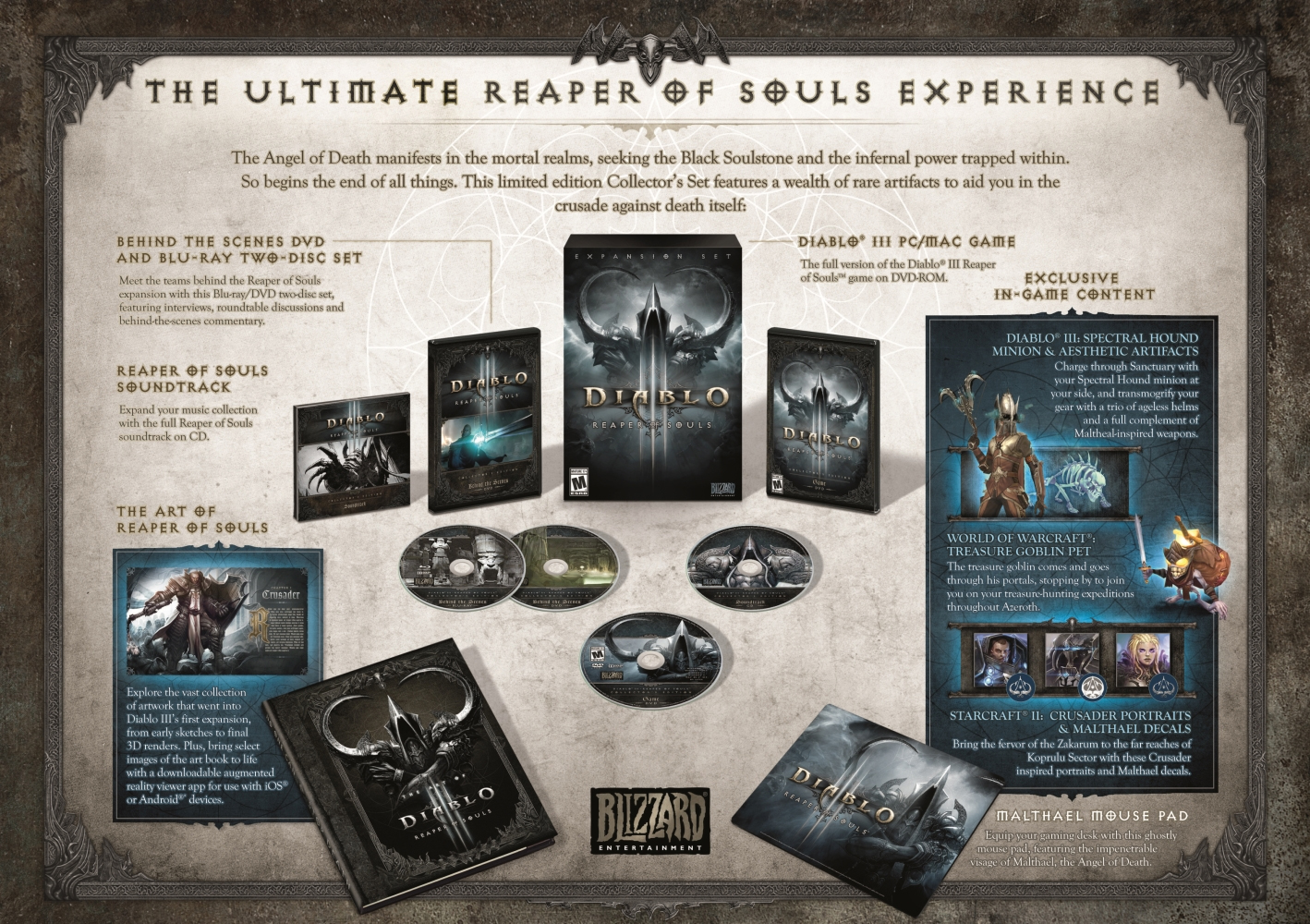 Diablo 3: Reaper of Souls Collector's Edition (1)