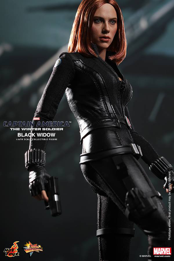 Preview | Hot Toys: Black Widow (Captain America: The Winter Soldier) (2)