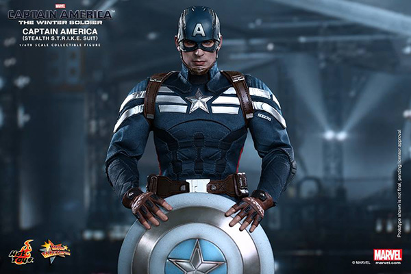 Preview | Hot Toys: Captain America (Stealth S.T.R.I.K.E. Suit Ver) (1)