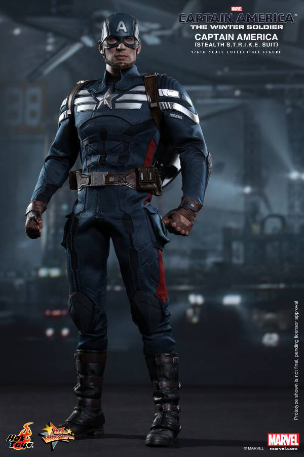 Preview | Hot Toys: Captain America (Stealth S.T.R.I.K.E. Suit Ver) (2)