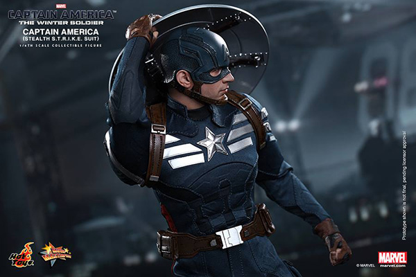 Preview | Hot Toys: Captain America (Stealth S.T.R.I.K.E. Suit Ver) (5)