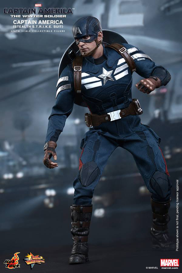 Preview | Hot Toys: Captain America (Stealth S.T.R.I.K.E. Suit Ver) (6)