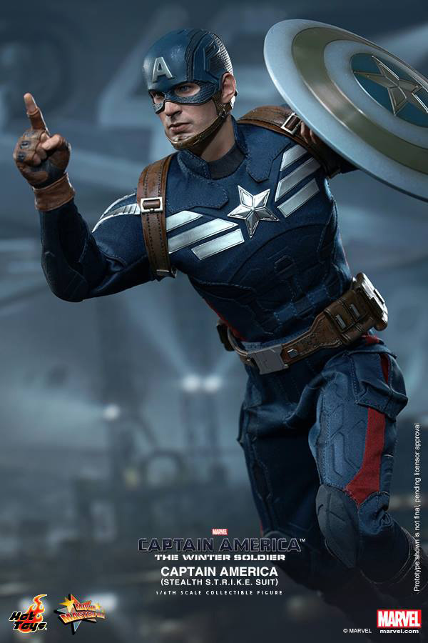 Preview | Hot Toys: Captain America (Stealth S.T.R.I.K.E. Suit Ver) (7)