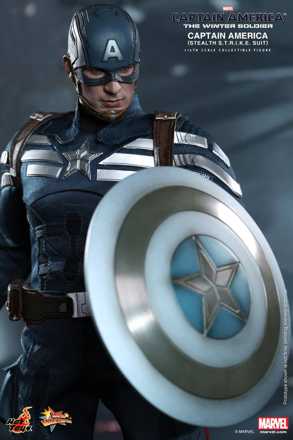 Preview | Hot Toys: Captain America (Stealth S.T.R.I.K.E. Suit Ver) (8)