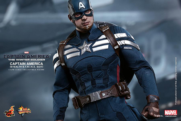 Preview | Hot Toys: Captain America (Stealth S.T.R.I.K.E. Suit Ver) (9)