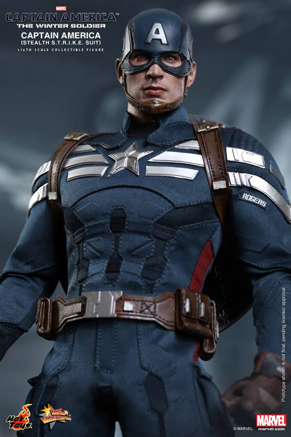 Preview | Hot Toys: Captain America (Stealth S.T.R.I.K.E. Suit Ver) (10)