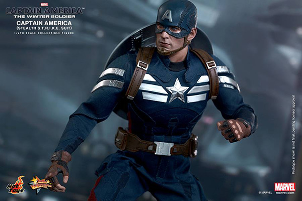 Preview | Hot Toys: Captain America (Stealth S.T.R.I.K.E. Suit Ver) (11)