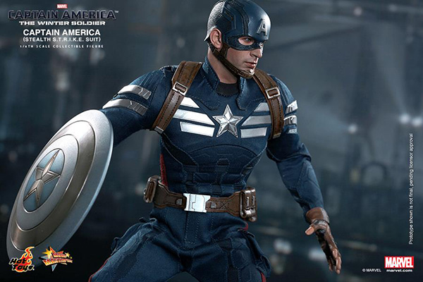 Preview | Hot Toys: Captain America (Stealth S.T.R.I.K.E. Suit Ver) (12)