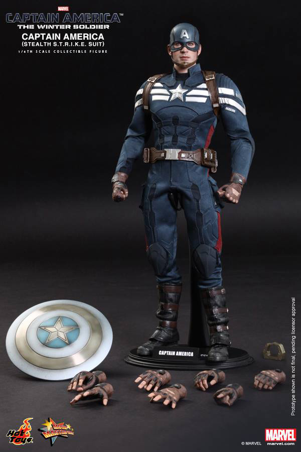 Preview | Hot Toys: Captain America (Stealth S.T.R.I.K.E. Suit Ver) (16)