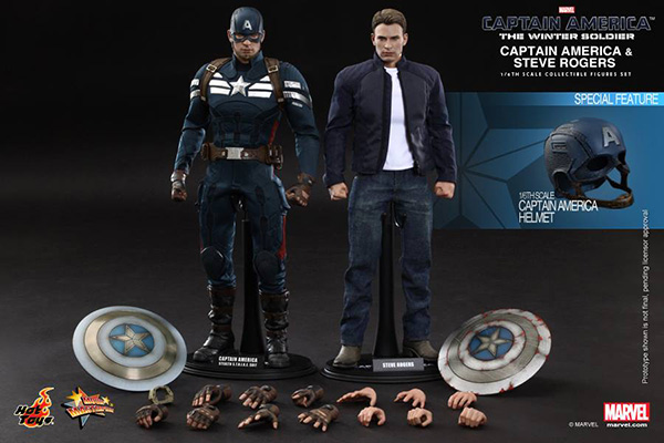 Preview | Hot Toys: Captain America & Steve Rogers (1)