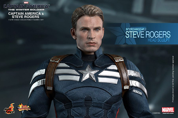 Preview | Hot Toys: Captain America & Steve Rogers (2)