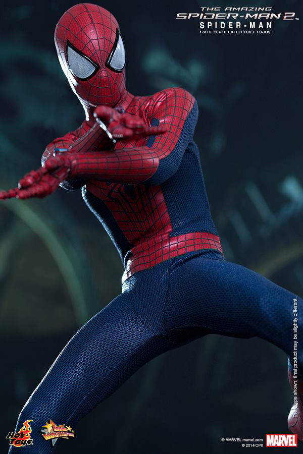 Preview | Hot Toys: Spider-Man (The Amazing Spider-Man 2) (3)
