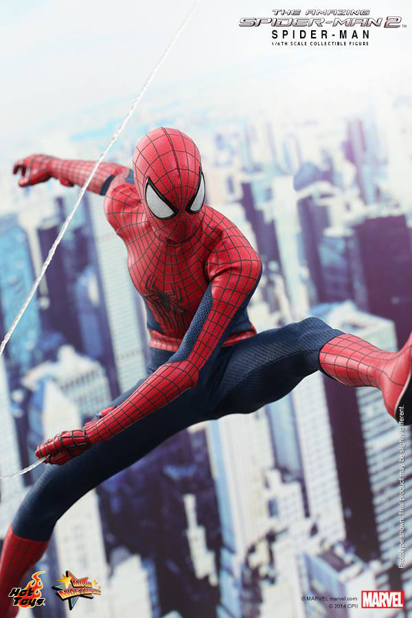 Preview | Hot Toys: Spider-Man (The Amazing Spider-Man 2) (4)