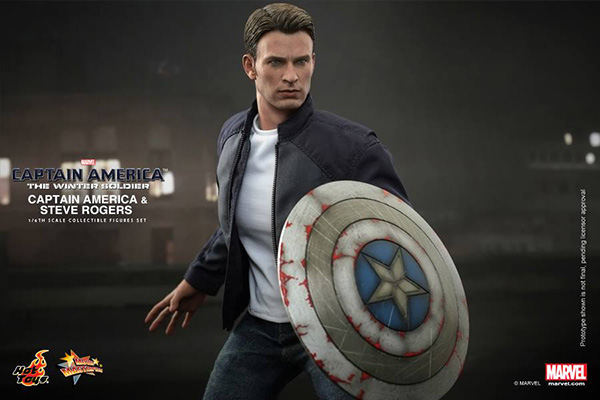Preview | Hot Toys: Captain America & Steve Rogers (9)