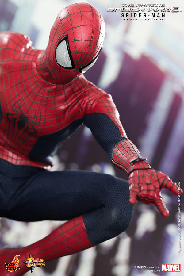 Preview | Hot Toys: Spider-Man (The Amazing Spider-Man 2) (16)