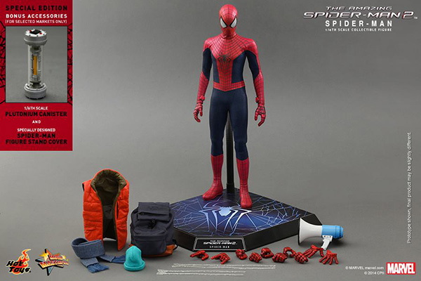 Preview | Hot Toys: Spider-Man (The Amazing Spider-Man 2) (18)