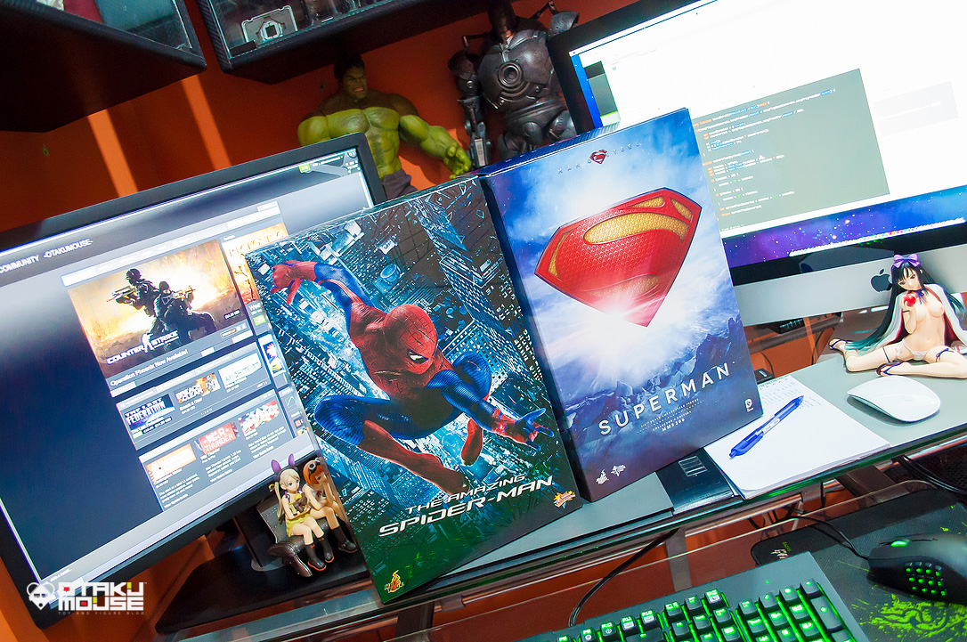 April 2014 Loot Report - Hot Toys Amazing Spiderman & Man of Steel (2)