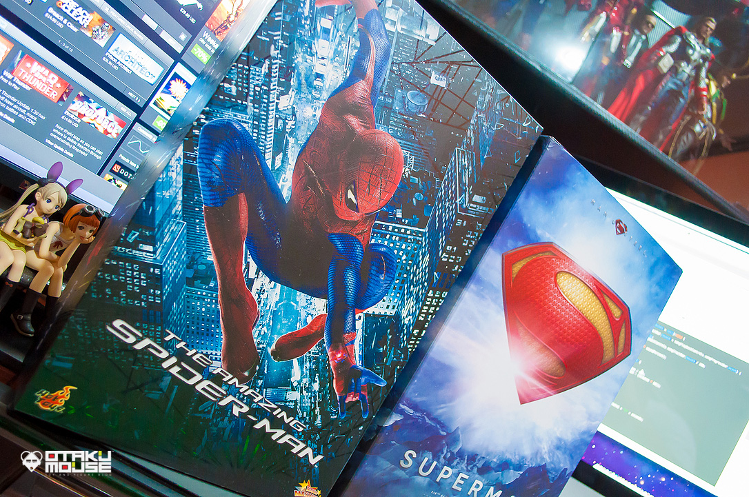 April 2014 Loot Report - Hot Toys Amazing Spiderman & Man of Steel (3)