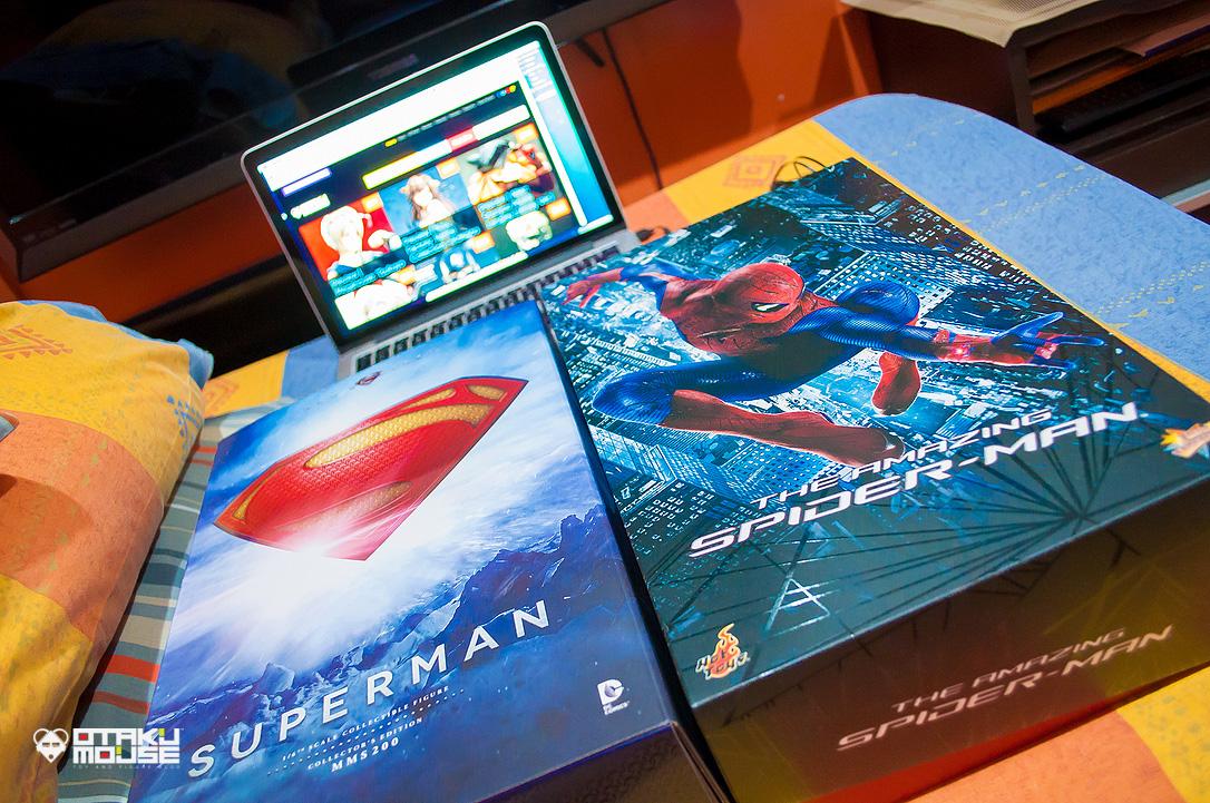 Otakumouse Unboxed! #01 | Hot Toys Superman and Amazing Spiderman (1)