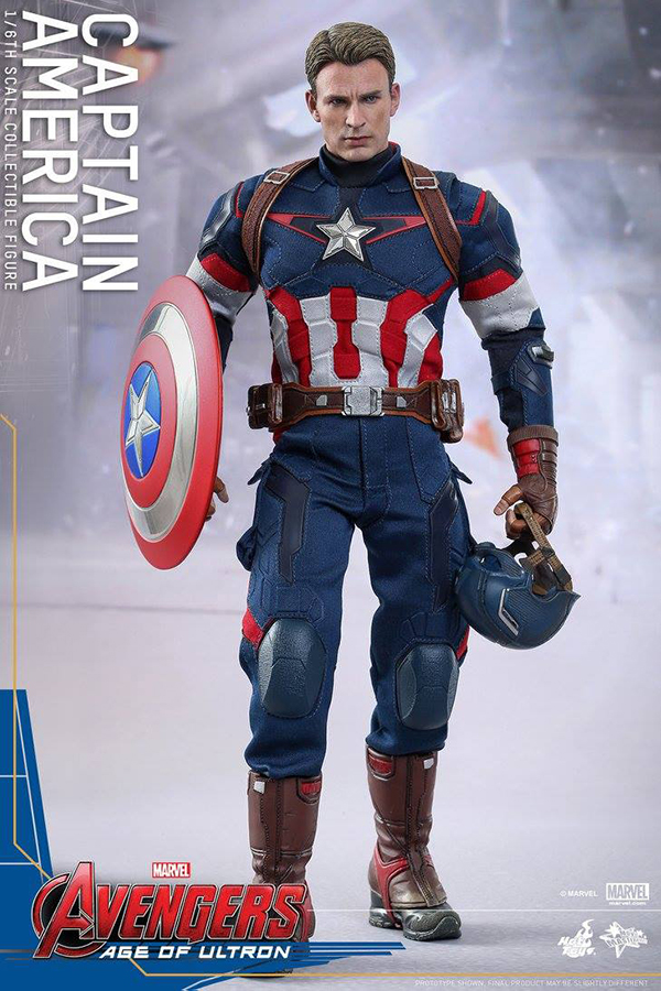 Preview   Hot Toys: Captain America (Age of Ultron) (1)