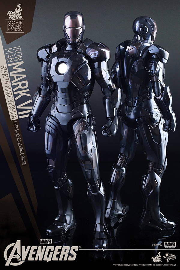 Preview | Hot Toys: Iron Man Mark VII (Stealth Mode Version) (3)