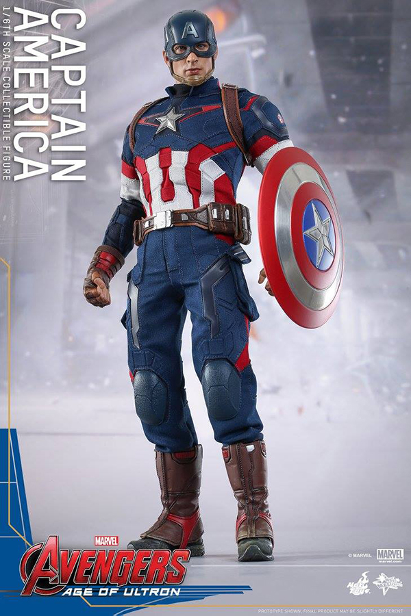 Preview   Hot Toys: Captain America (Age of Ultron) (2)