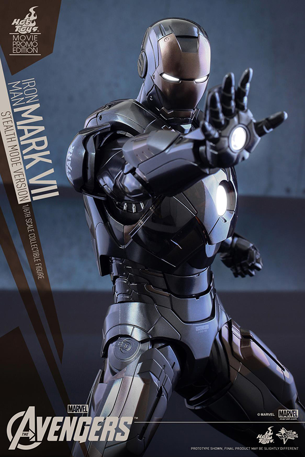 Preview | Hot Toys: Iron Man Mark VII (Stealth Mode Version) (4)