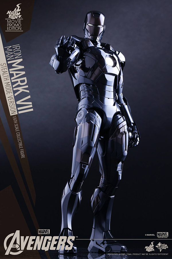 Preview | Hot Toys: Iron Man Mark VII (Stealth Mode Version) (5)