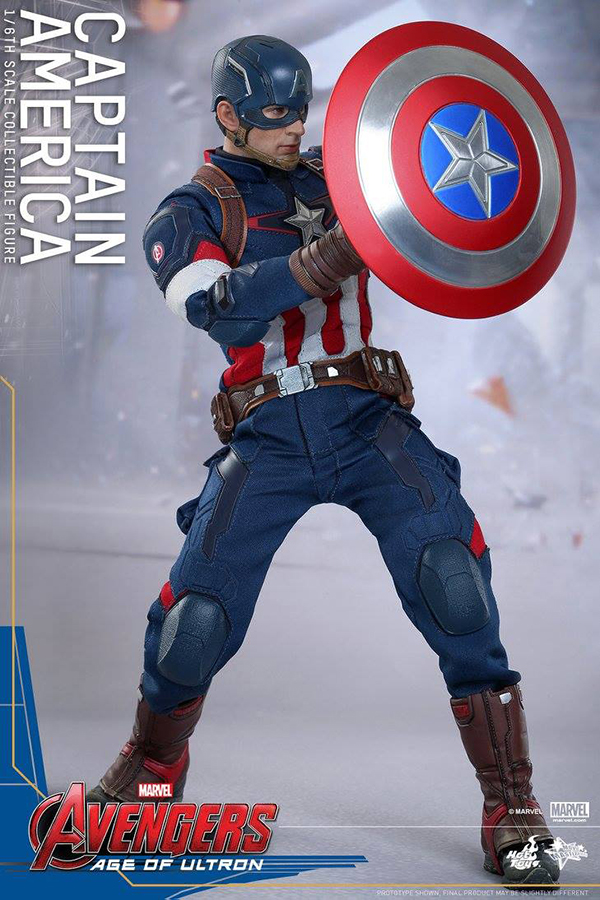 Preview   Hot Toys: Captain America (Age of Ultron) (4)