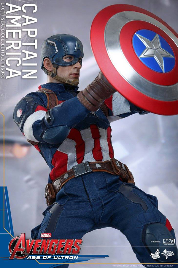 Preview   Hot Toys: Captain America (Age of Ultron) (5)