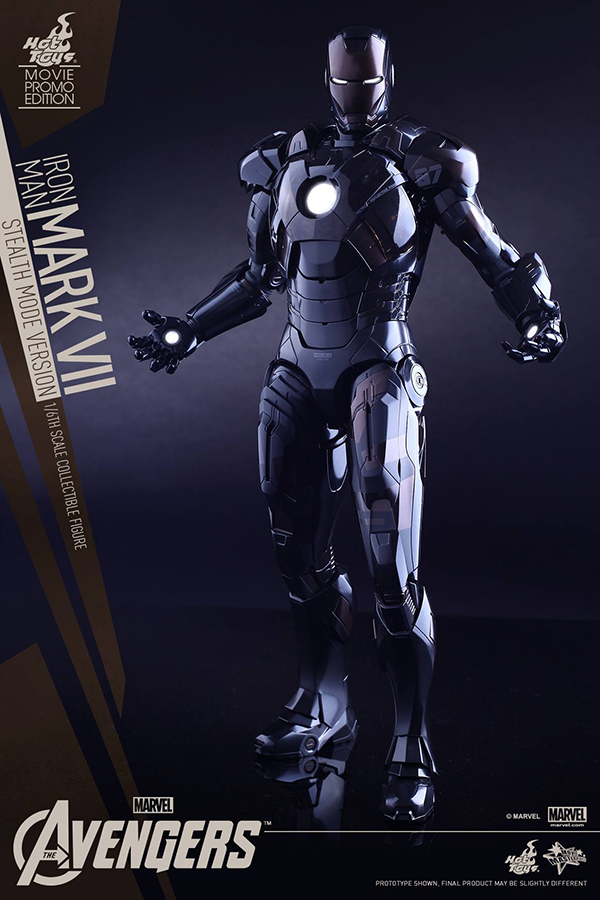 Preview | Hot Toys: Iron Man Mark VII (Stealth Mode Version) (8)