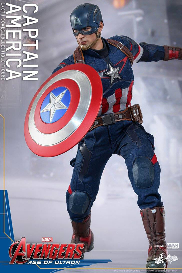 Preview   Hot Toys: Captain America (Age of Ultron) (7)