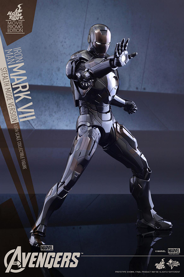 Preview | Hot Toys: Iron Man Mark VII (Stealth Mode Version) (9)