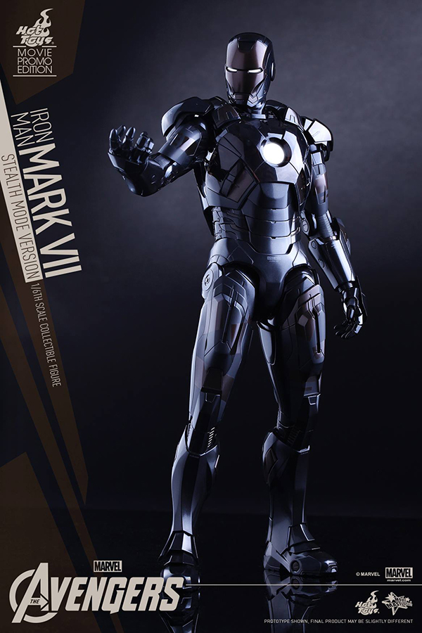 Preview | Hot Toys: Iron Man Mark VII (Stealth Mode Version) (10)