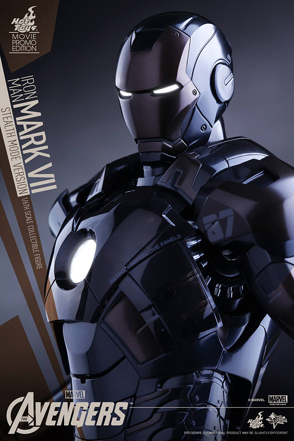 Preview | Hot Toys: Iron Man Mark VII (Stealth Mode Version) (11)