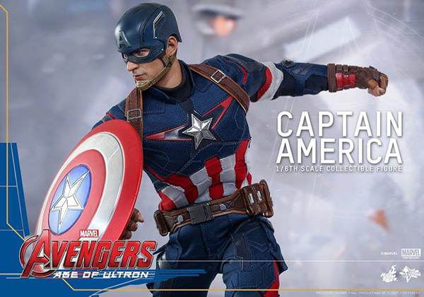 Preview   Hot Toys: Captain America (Age of Ultron) (10)
