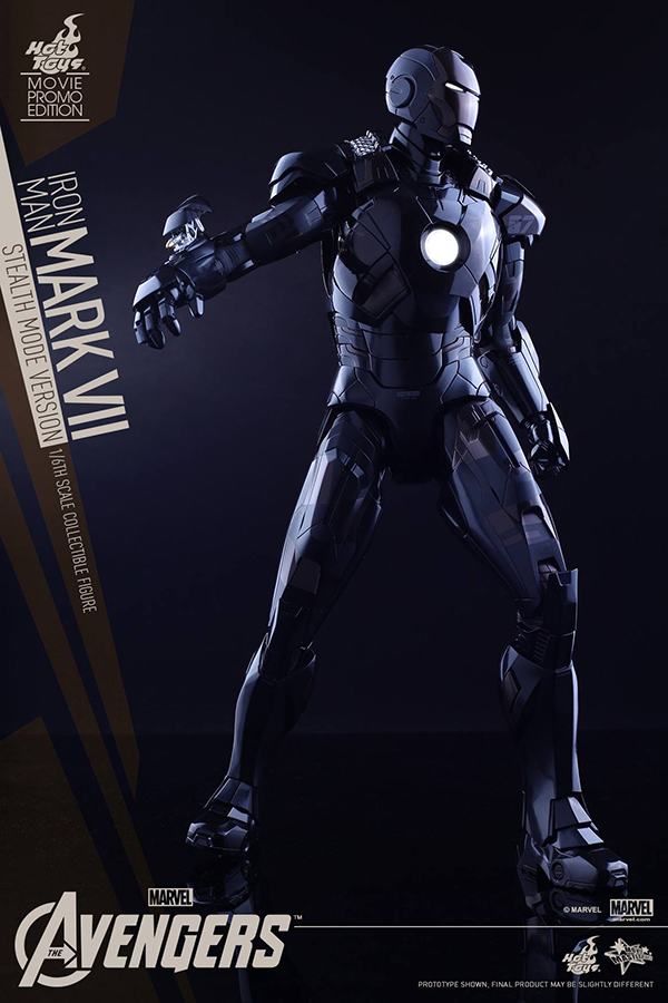 Preview | Hot Toys: Iron Man Mark VII (Stealth Mode Version) (12)