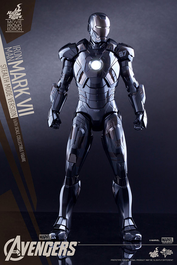 Preview | Hot Toys: Iron Man Mark VII (Stealth Mode Version) (13)