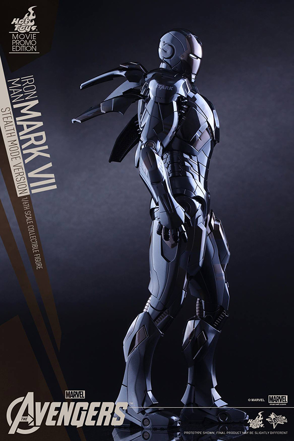 Preview | Hot Toys: Iron Man Mark VII (Stealth Mode Version) (14)