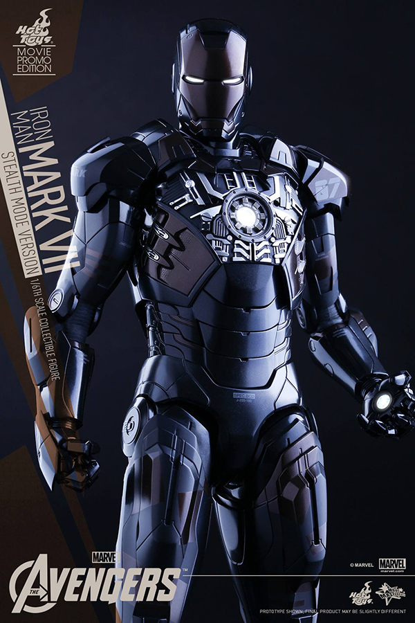 Preview | Hot Toys: Iron Man Mark VII (Stealth Mode Version) (15)