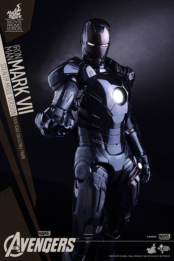 Preview | Hot Toys: Iron Man Mark VII (Stealth Mode Version) (16)
