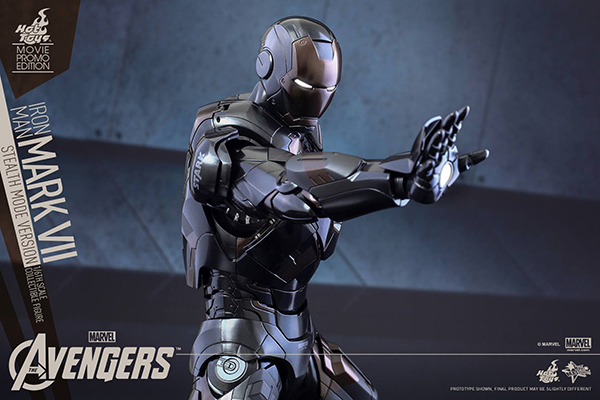 Preview | Hot Toys: Iron Man Mark VII (Stealth Mode Version) (17)